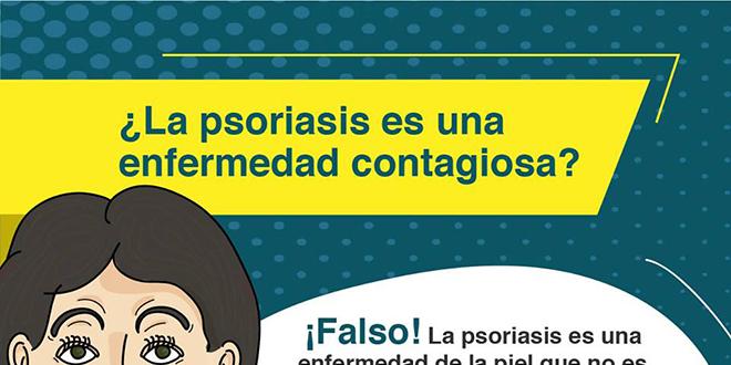 La Psoriasis es contagiosa