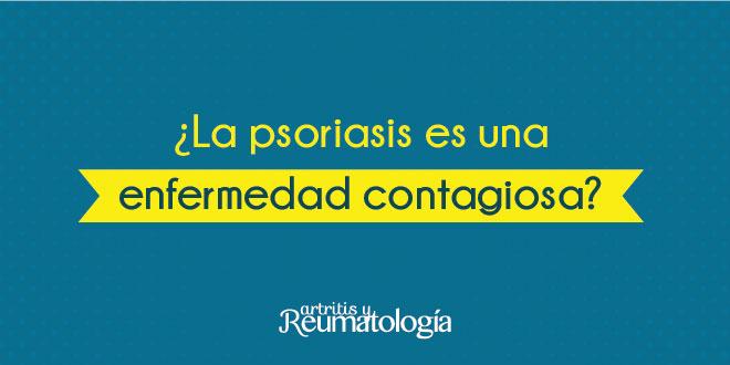 ¿La psoriasis es una enfermedad contagiosa?