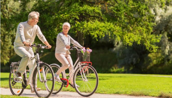 Muévete en bici por tus articulaciones