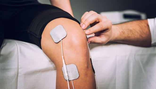 Estimulación nerviosa eléctrica para aliviar el dolor