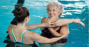 Ejercicios bajo el agua para tratar la fibromialgia