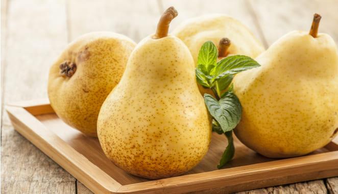 5 beneficios de incluir la pera en tu dieta
