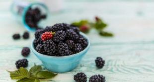 Beneficios de incluir las moras en tu dieta