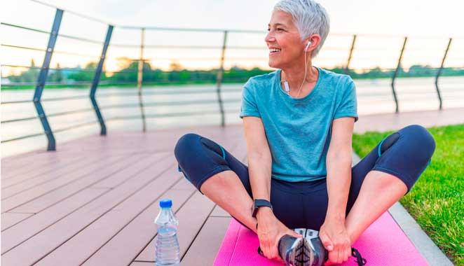 El ejercicio puede reducir el riesgo de fractura en mujeres mayores