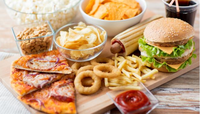 Alimentos e ingredientes que causan inflamación