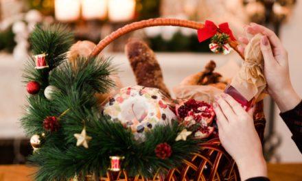 Cestas navideñas saludables  para evitar los excesos en fiestas decembrinas