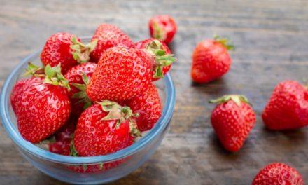 Comer fresa evita la anemia, la artritis y la gota