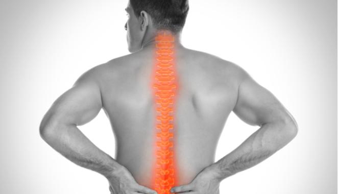 Espondilitis anquilopoyética: inflamación en las articulaciones de la columna