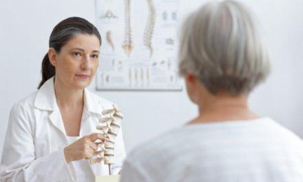 Estenosis espinal crecimiento excesivo óseo