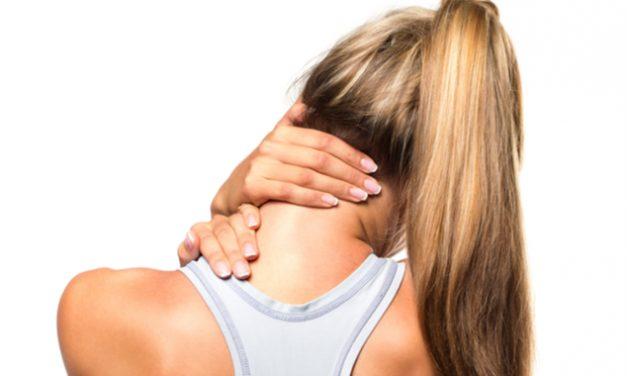 Tortícolis: rigidez repentina de los músculos y articulaciones del cuello