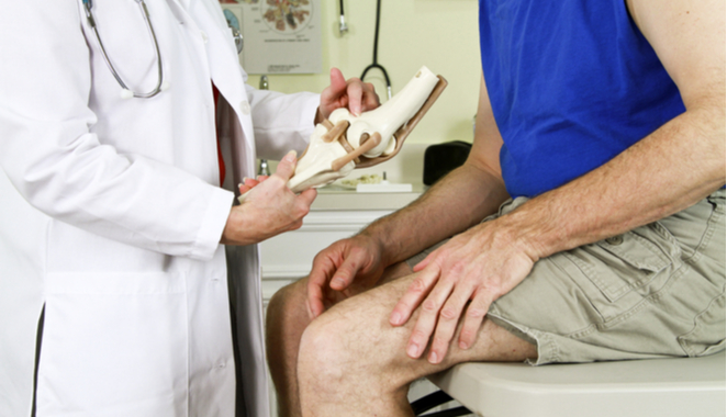 Aparato ortopédico para la rodilla